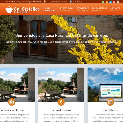 Web Cal Cisteller- turisme
