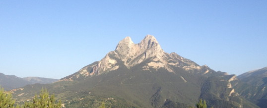 Pedraforca the Bergueda mountain