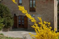 L'entrada de la casa rural