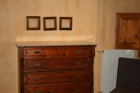 Triple bedroom chest of drawers