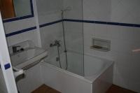 El cuarto de bany del pis de baix