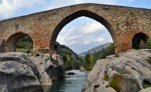 ruta_pont_gotic_pedret-route